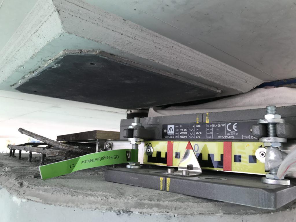 Výměna ložisek Letiště Václava Havla