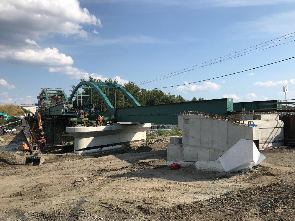 Výsun mostu Dětmarovice